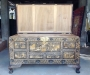 Hand carved campher chest
