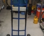 Boat motor stand trolley
