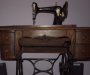 Gramophone & treadle sewing machine