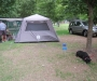 Tent 6 man Coleman & and camping bed