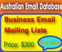 Targeted mailing lists is the easy way