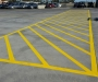 Yellow Line Marking