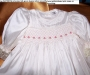 Handmade christening gowns